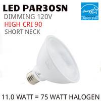 PAR30 LED LIGHT BULB GREEN CREATIVE 11PAR30SNG4DIM/930FL40