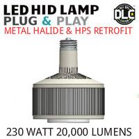LED HID RETROFIT LAMP PLUG&PLAY REPLACES 400W-250W HID E39 5000K LUNERA SN-V-E39-B-20KLM-850-G3