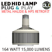 LED HID RETROFIT LAMP PLUG&PLAY REPLACES 400W-250W HID E39 5000K LUNERA SN-V-E39-B-15KLM-850-G3