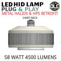 LED HID RETROFIT LAMP PLUG&PLAY REPLACES 150W-70W HID E39 4000K LUNERA SN-VS-E39-B-5KLM-840-G3