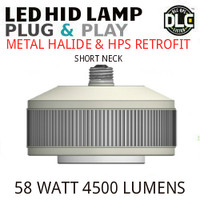 LED HID RETROFIT LAMP PLUG&PLAY REPLACES 150W-70W HID E39 3500K LUNERA SN-VS-E39-B-5KLM-835-G3