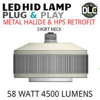 LED HID RETROFIT LAMP PLUG&PLAY REPLACES 150W-70W HID E26 5000K LUNERA SN-VS-E26-B-5KLM-850-G3