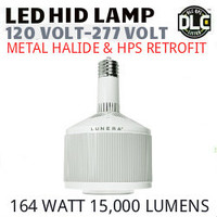 LED HID RETROFIT LAMP 120V-277V REPLACES 400W-250W HID E39 4000K LUNERA SN-V-E39-L-15KLM-840-G3