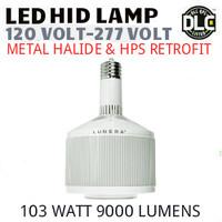 LED HID RETROFIT LAMP 120V-277V REPLACES 250W-150W HID E26 4000K LUNERA SN-V-E26-L-9KLM-840-G3
