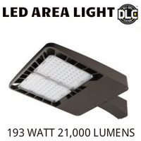 LED AREA LIGHT LUMINAIRE 193 WATT 21,000 LUMENS 5000K ALEO AL-200/50K-D