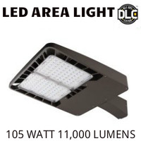 LED AREA LIGHT LUMINAIRE 105 WATT 11,000 LUMENS 5000K ALEO AL-100/50K-D