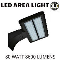 LED AREA LIGHT LUMINAIRE 80 WATT 8600 LUMENS 4000K VE LAL-80-4000K