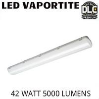 LED VAPOR TIGHT FIXTURE 4FT 42 WATT 5000 LUMENS 5000K 0-10V DIMMING ALEO LVE-4L/850