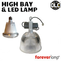 High Bay W/LED Lamp 220W 24,000 Lumens 5000K Foreverlamp HB1-54-24U-8-50-12-H-A-D