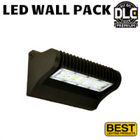 LED Adjustable Wall Pack 40W 5238 Lumens 5000K Best LEDWPA40-5K