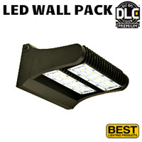 LED Adjustable Wall Pack 80W 10,600 Lumens 5000K Best LEDWPA80-5K