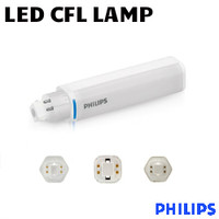 LED CFL Plug&Play Lamp 8.5W 950 Lumens 40K Horiz 4 Pin Philips 8.5PL-C/T LED/26H-4000 IF 4P