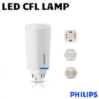 LED CFL Plug&Play Lamp 10W 1300 Lumens 40K Vert 4 Pin Philips 10.5PL-C/T LED/26V-4000 IF 4P