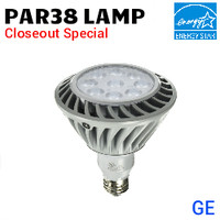 LED Par38 26W 1500 Lumens 30K NF25° GE LED26DP38S830/25