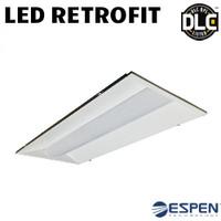 LED 2X4 Troffer Retrofit Kit 36W 4500 Lumens Dim 40K Espen VEKT2X4L/840