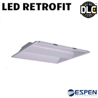 LED 2X2 Troffer Retrofit Kit 22W 2750 Lumens Dim 40K Espen VEKT2X2H/840
