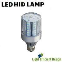 LED HID Lamp 120-277V 14W 2065 Lumens 4000K Light Efficient Design LED-8038E40-A