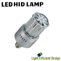 LED HID Lamp 120 277V 18W 2983 Lumens 4000K Light Efficient Design  LED 8039E40 A