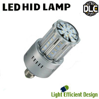 LED HID Lamp 120-277V 24W 3430 Lumens 3000K Light Efficient Design LED-8029M30-A