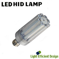 LED HID Lamp 120-277V 35W 5617 Lumens 5700K Light Efficient Design LED-8033E57-A