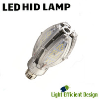 LED HID Lamp 120-277V 30W 3955 Lumens 5700K Light Efficient Design LED-8083E57