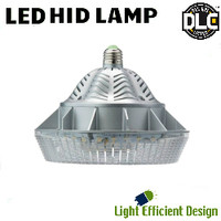 LED HID Lamp 120-277V 52W 5498 Lumens 4200K Light Efficient Design LED-8025M42