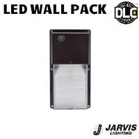 LED Wall Pack Fixture 29 Watt 2885 Lumens 5000K Jarvis WPS-125-S-BRZ