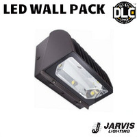 LED Adjustable Wall Pack 60W 6354 Lumens 5000K Jarvis AL-250-W-BRZ