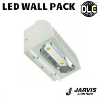 LED Adjustable Wall Pack 77W 8403 Lumens 5000K Jarvis AL-320-F-WHT