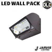 LED Adjustable Wall Pack 77W 8403 Lumens 5000K Jarvis AL-320-W-BRZ