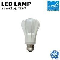 LED A21 Lamp 13W 1100 Lumen 27K Dim 120V GE LED13DA21/827/BX