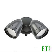 LED Security Light Bronze 20W 1200 Lumens 40K 120V ETI 51401142