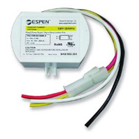 Espen Technology VEL12035120H-3-CA LED Driver Constant Current, 350mA, Max. 12W, 120V Input. High Power Factor. Quick connector. Genuine Espen OEM replacement part. (Same as VEL12035120H-3)