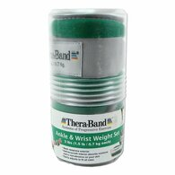 Thera-band comfort fit weight one pair - 2 x 1.5lb per cuff - Green