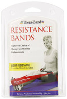 "Thera-Band Latex Exercise Band Pack - Light - 1 Thin/1 Medium/1Heavy - 5.5"" X 5'"