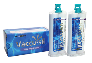 Like the highly rated Vaccu•sil heavy and light body VPS materials,  Vacu-Bite stands up to the major brands and yet is the lowest cost on the market.