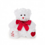 I Love You White Teddy