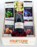 Moet and Lindt x 4 Gift Box