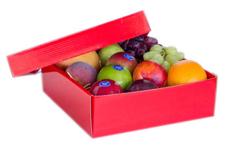 Baby Hamper Mini Gift Hamper Mixed Fruit - RED