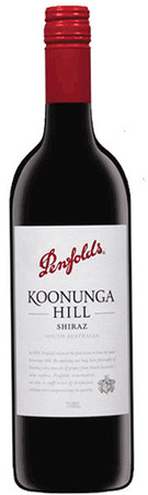 A Bottle Of Penfolds Koonunga Hill Shiraz wine.