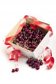Delicious and juicy Cherries in a 2 Kg Box.
