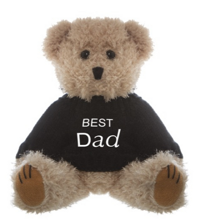 Best Dad Message Bear
