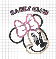 Reserved for Shan - Minnie Inspired Babes Club