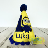 Minion Inspired Party Hat