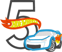 Hot Wheels Inspired Birthday