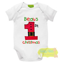 1st Christmas - Santa Suit #1