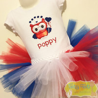 Owl Princess (Red, Navy White) Set