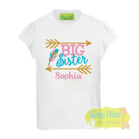 Big Sister - Arrow & Feather Design