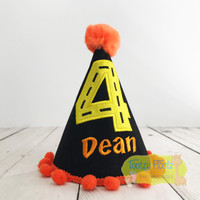 Construction Themed Party Hat