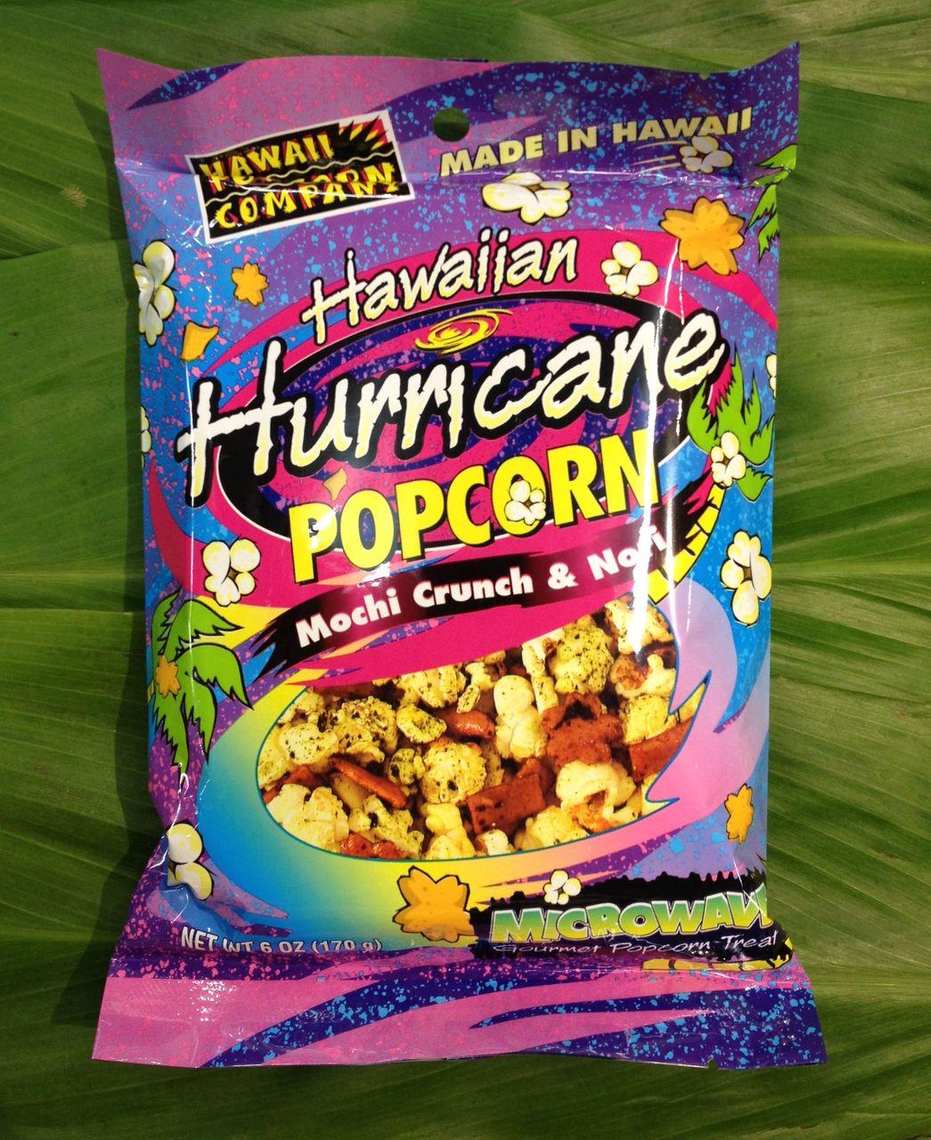 Hawaiian Hurricane Popcorn - Hawaii General Store - HGS Travel